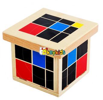 wholesale educational baby wooden montessori preschool toys best sale toddlers wooden montessori preschool toys W12F016