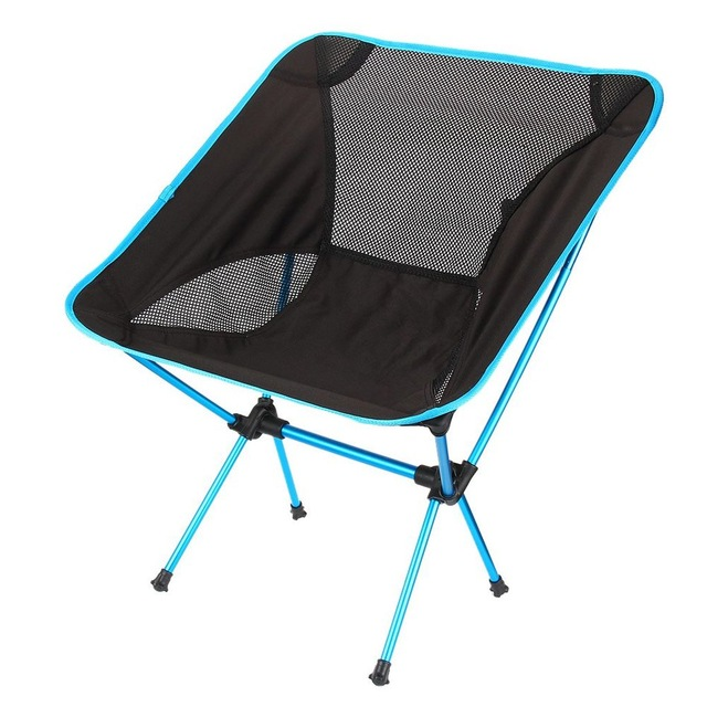 Ultra Light Beach Chair Outdoor Camping Portable Folding Lightweight Chair For Hiking Fishing Picnic Barbecue