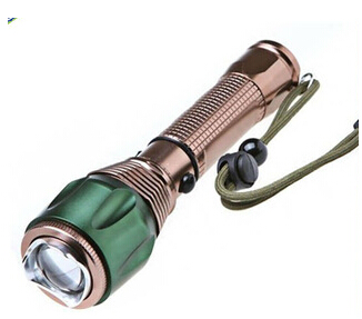 Cree led rechargeable zoom torch light