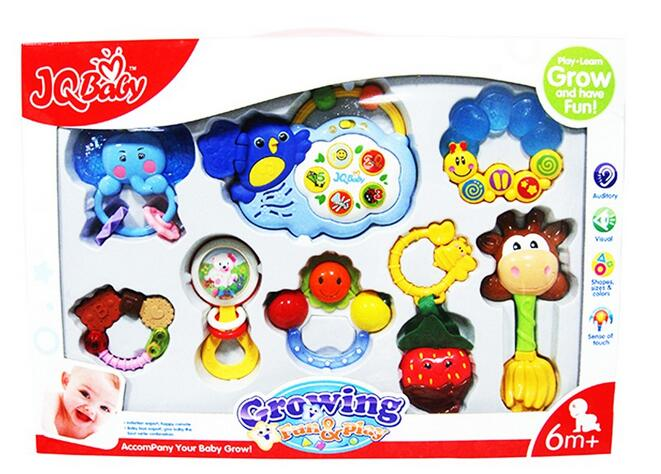 Growing Fun & Play Tooth Rattle with Music For Hot Sale Fun Toys For Kids