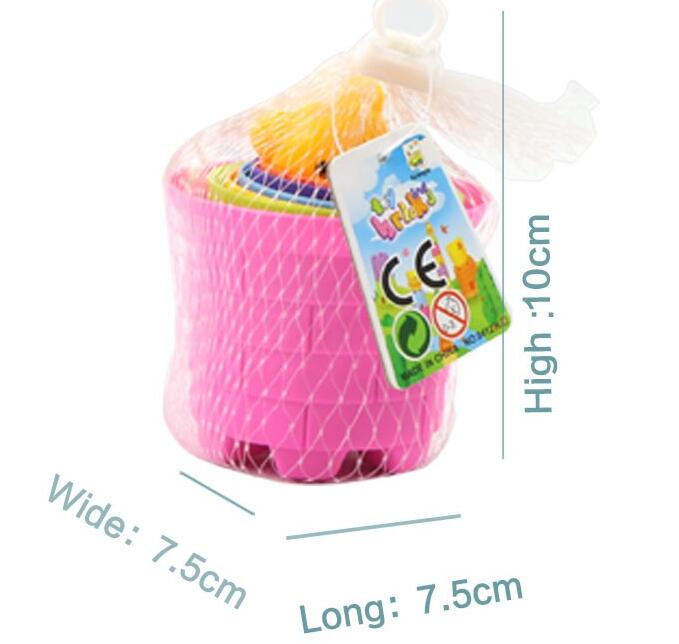 Wholesale educational toys for kids intelligent cup plastic toys factory in shantou