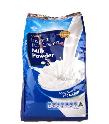 full cream milk powder packaging bag