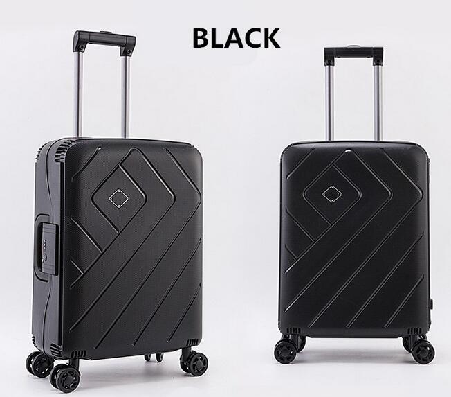Wholesale pp hardshell travel suitcase luggage suitcase set