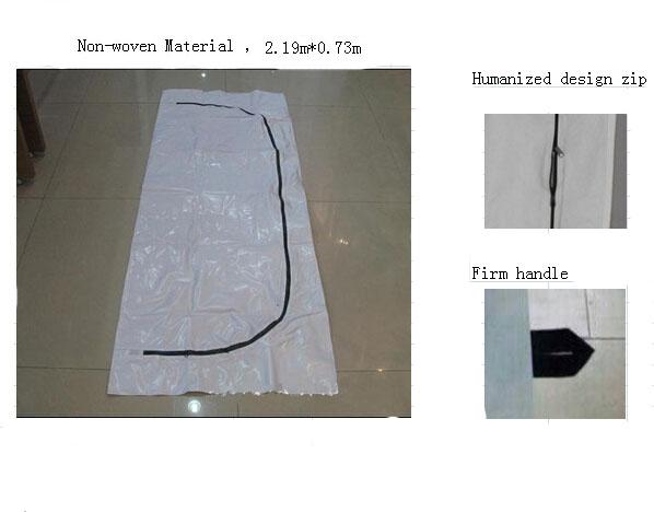 Cost advantage Non-woven Material bodyBags/dead body bag