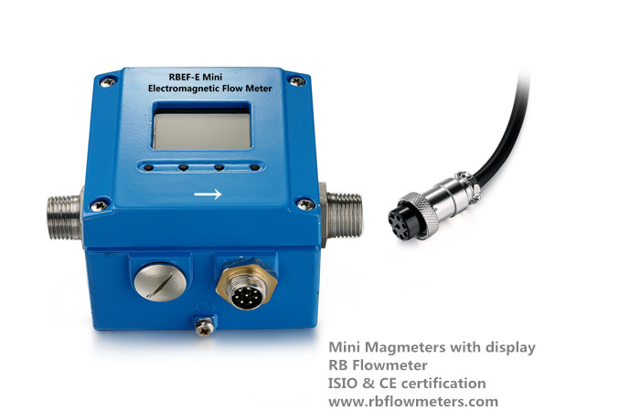 Mini Inductive Magnetic flow meter