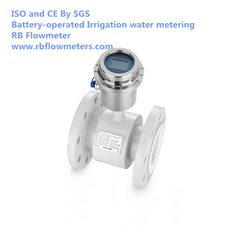 battery powered electromagnetic flow meter