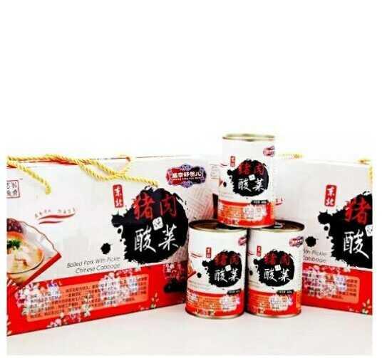 Zhiyingjia Canned Pork and Sauerkraut