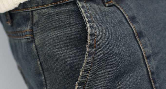 wholesale cotton drop cotton harem pants tapered denim jogger