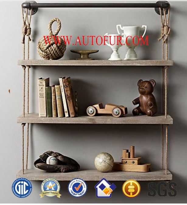 DIY simple pipe bookshelf individual living room furniture