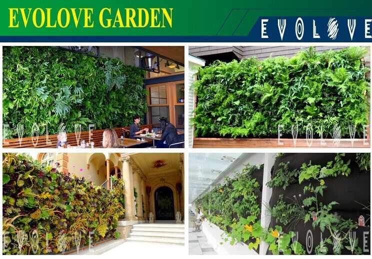 Vertical garden wall pocket planter