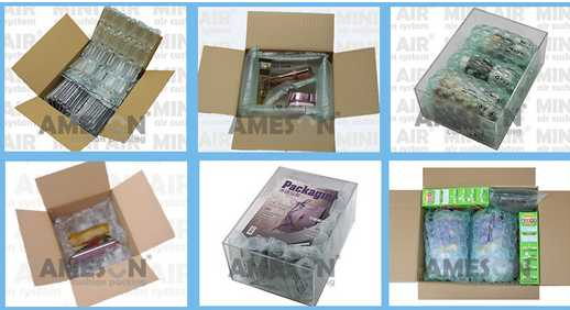 2015 Good Quality New air cushion packaging sheet