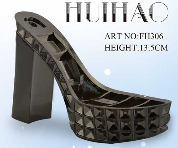 FH306 Latest used high heels for sale shoe sole factory