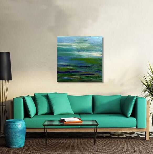 hotsaelling cheap modern abstract oil painting canvas china