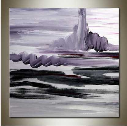 2016 hotsale canvas abstract art themes painting hand made