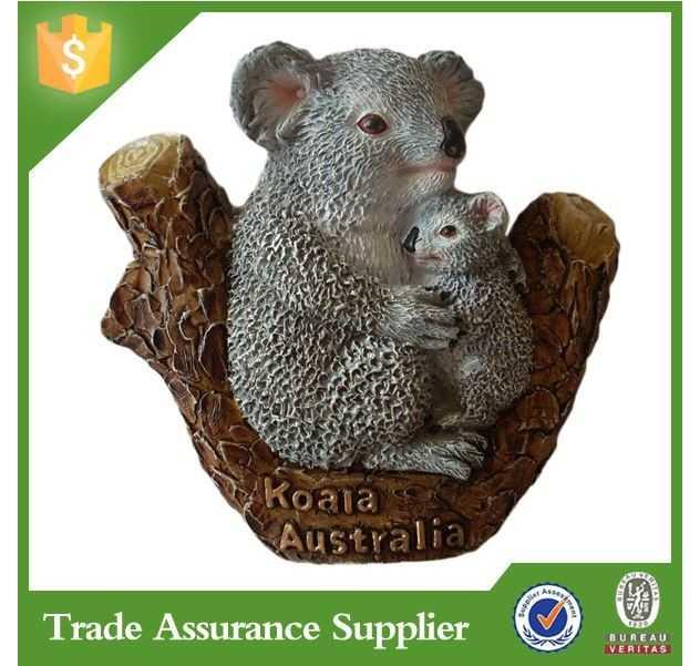 Australian souvenir wildlife fridge magnet