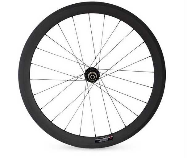 Carbon bike wheel clincher 50mm road bike carbon wheelset 3k glossy / matt carbon fiber wheels for bicycle