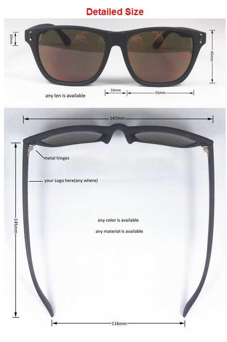 mirror lens custom wayfarer sunglasses