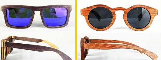 Excellent quality hot-sale new fashion oem wooden sunglasses