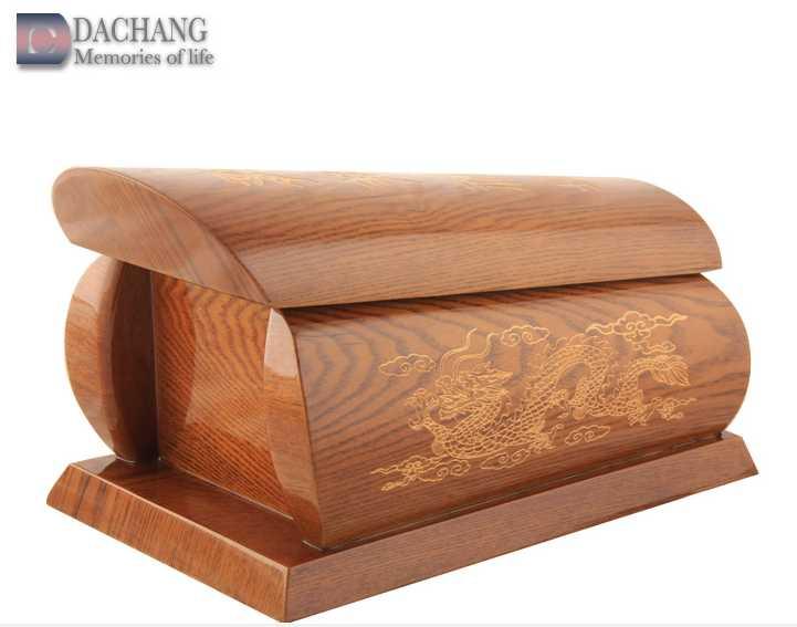 wood urn box