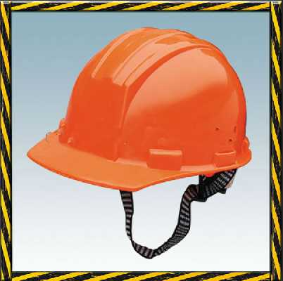 PE or ABS materials V type industrial safety helmet