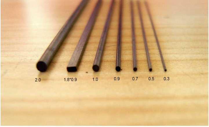 0.5mm 60mm HB Hi-polymer mechanical lead pencil