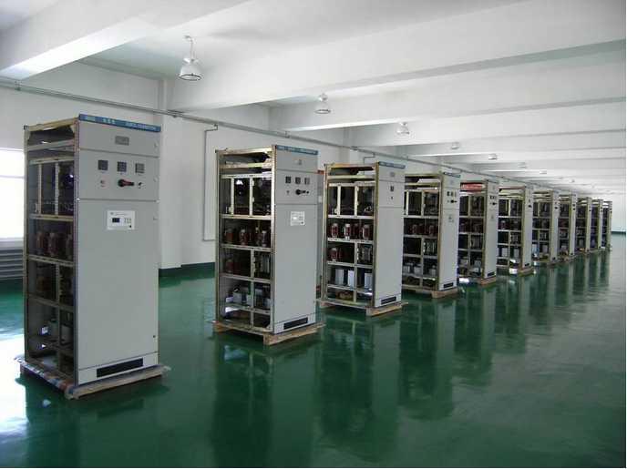 KVAR capacitor bank reactive power compensation