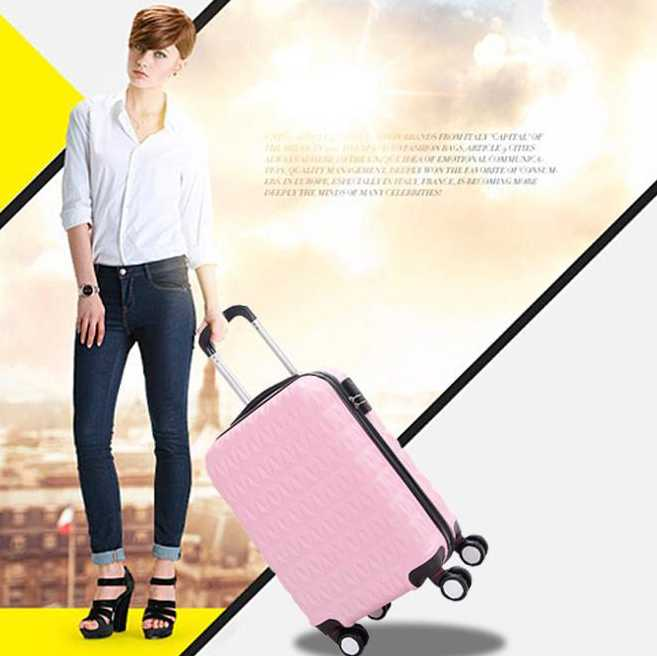 ABS trolley luggage sets,cheap price,high quality,travel companion