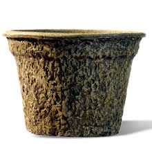 Biodegradable flower pot, flower container,garden pot, plant pot/ molded pulp flower pot  planter