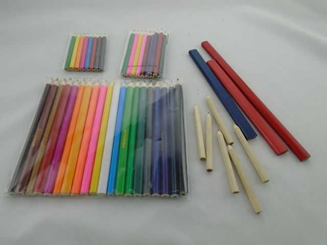 pencil set with ruler