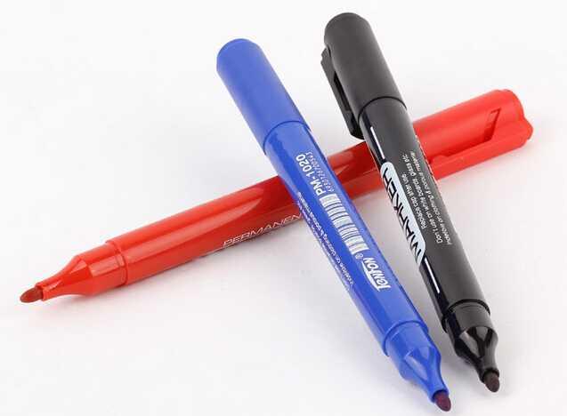 indelible marker pen