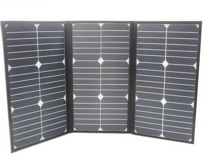60W outdoor emergency power supply sunpower portable folding solar panel energy bag