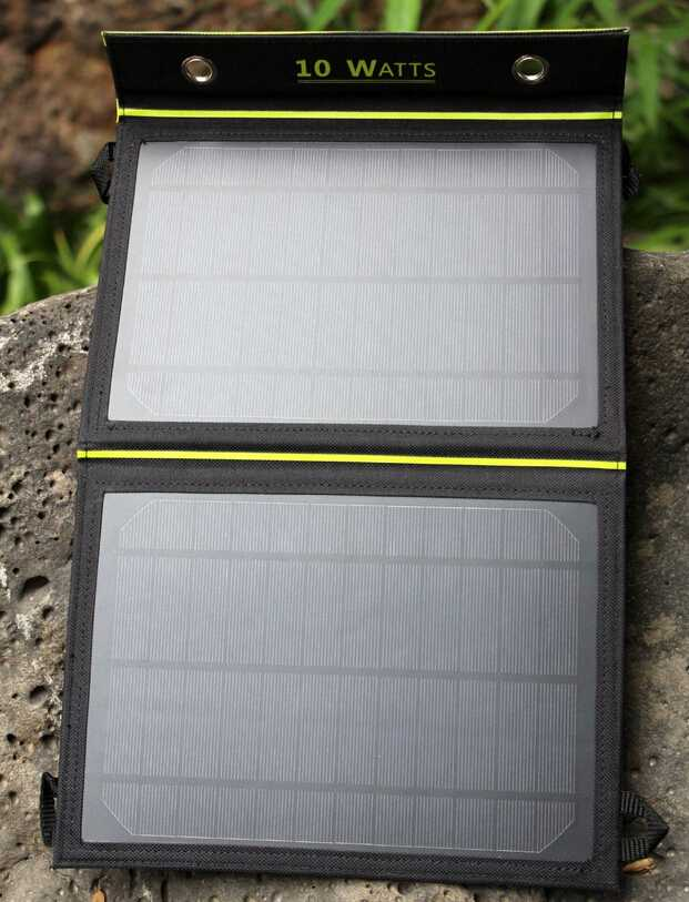 10W Solar Charger Portable Solar Power for iPhone
