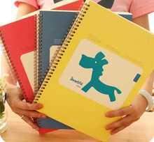 europe popular custom made spiral notebook a4