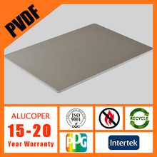 ALUCOPER ACP (aluminum plastic composite panel) for building interior wall decoration