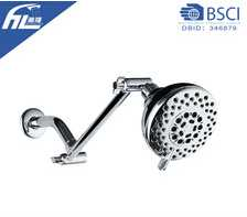 retractable shower head with shower extension