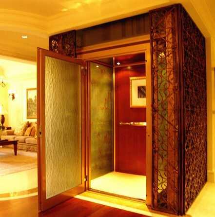 Xiwei 250kg 3 persons residential indoor home villa for Indoor elevator