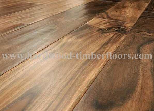 smooth surface Acacia hard wood flooring indoor