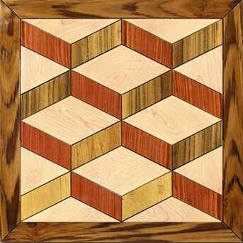 Engineered Ash Decorative Parquet Floorings