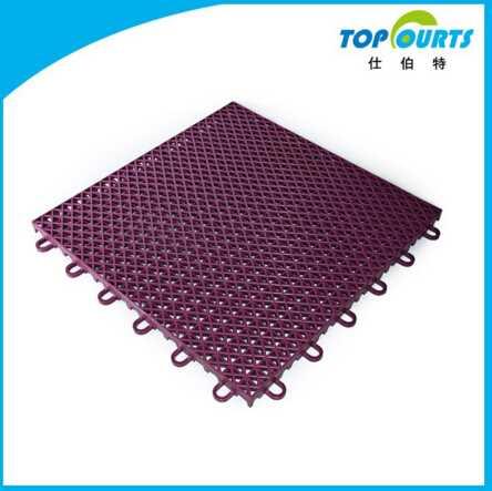 High performance easy installation tennis court floor