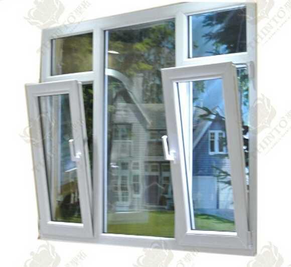 Luxury style UPVC profile 2.0-2.5mm aluminum door and alloy window