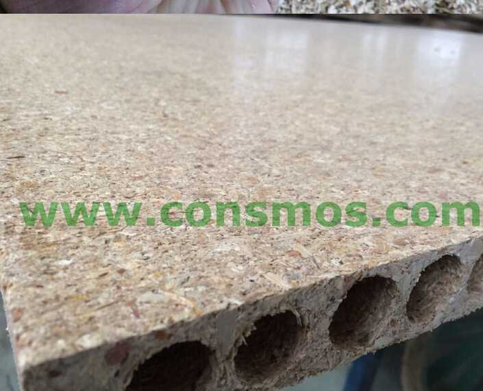 33mm chipboard prices for tubular chipboard for door core/hollow core chipboard