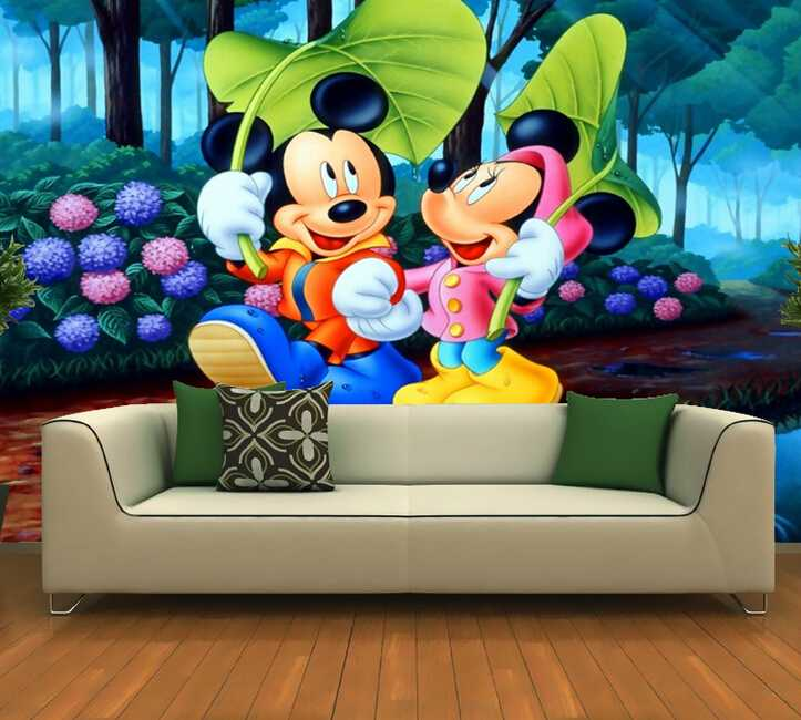 cartoon design decorative wallpaper kids wall paper