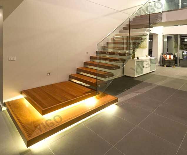 wood stair pillar stair metal used