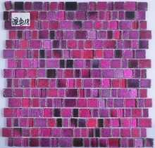 Exterior and Interior Backsplash Glass Mosaic Tiles