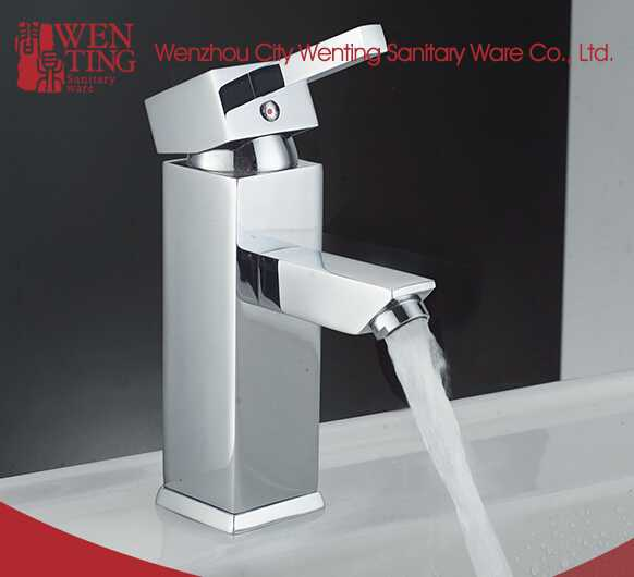High quality single handle antique brass bathroom faucet design