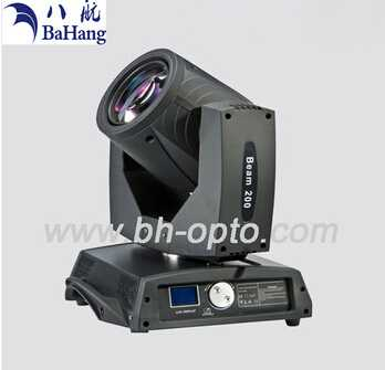 200W beam light moving head for theatre stage wedding studio dics bar