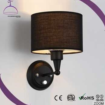 home decorative lamp fabric lamp shade wall lamp