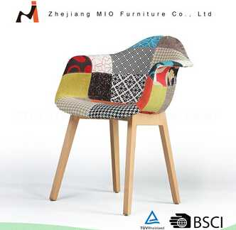 Modern Professional Made Fabric Dining Chair