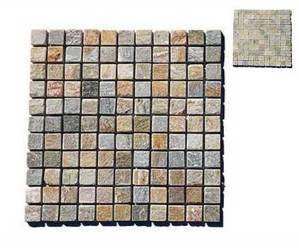 Natural Stone Mosaics Plates For Wall Floor Decoration