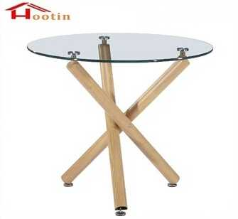 Elegant Modern Sale Dining Table With Glass Top